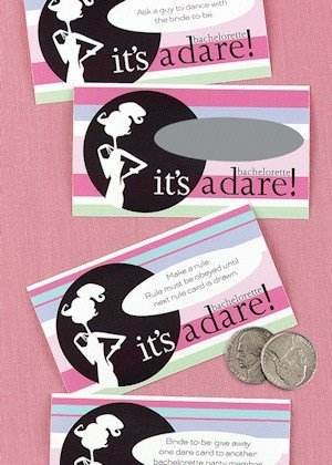 Bachelorette Party Scratch Off 'Dare' Game image