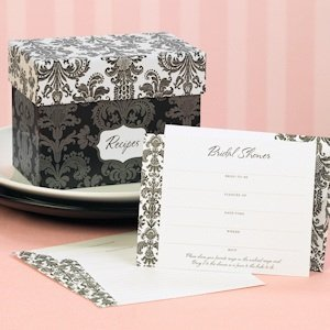 Recipe Box Bridal Shower Invites image