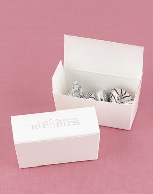 Hugs & Kisses from the Mr & Mrs Favor Boxes image