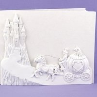 Once Upon a Time Cinderella Wedding Guest Book