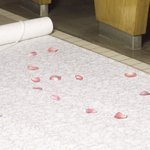Fabric Lace Aisle Runner (Ivory or White)
