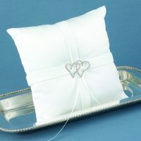 With All My Heart Ring Bearers Pillow