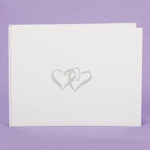 Linked Heart Guest Book image