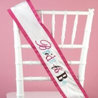 Whimsical Bride to Be Sash