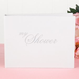 'My Shower' Wedding Shower Guest Book image