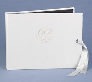 60th Anniversary Party Guest Book image