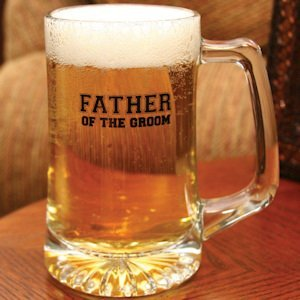Personalized Father of the Groom Mug image