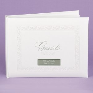 White Essence Pearl Guest Book image