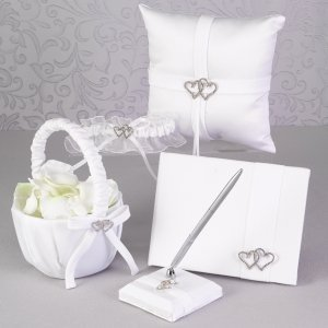 With All My Heart Wedding Accessory Set image