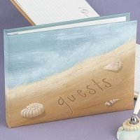 Seaside Jewels Beach Themed Guest Book