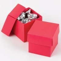 Mix and Match Two Piece Fuchsia Favor Boxes (Set of 25)