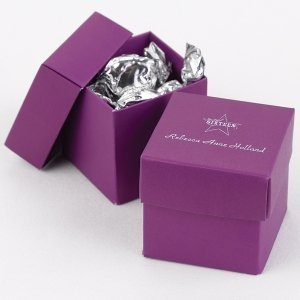 Mix and Match Personalized Grape Purple Favor Box (25 Pack) image