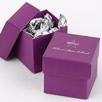 Mix and Match Personalized Grape Purple Favor Box (25 Pack)