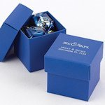 Mix and Match Personalized Royal Blue Favor Box (Set of 25)