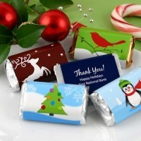 Custom Hershey Holiday Miniatures (Many Designs)