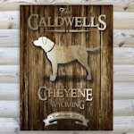 Rustic Woodgrain Cabin Canvas Prints (9 Designs)