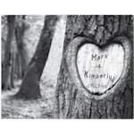 Tree of Love Personalized Canvas Print