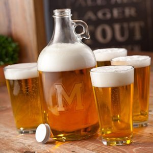 Personalized Beer Growler Set image