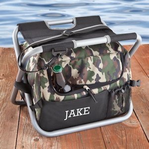 Personalized Sit N Sip Camouflage Cooler Combo image