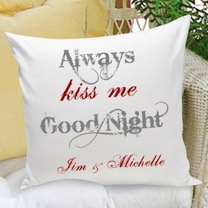 Couples & Love Personalized Throw Pillow - 5 Designs image