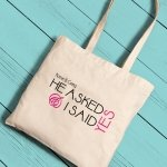Personalized Bride Tote Bags (11 Designs)