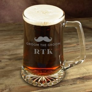 Engraved Mustache Mugs (4 Designs) image