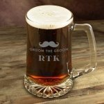 Engraved Mustache Mugs (4 Designs)