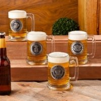 Personalized Military Emblem Beer Steins (4 Designs)