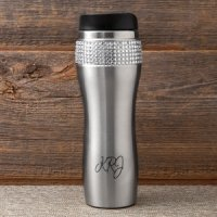 Personalized Bling Travel Mug