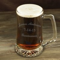 Engraved 25oz Groomsman Sports Mug