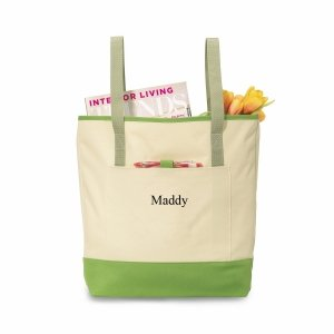 Personalized Backpack Tote (4 Colors) image