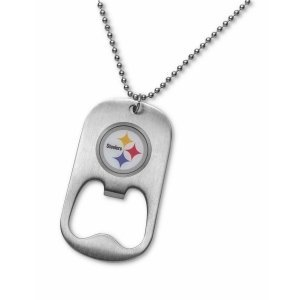Personalized NFL Necklace Bottle Opener image