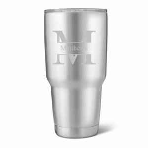 Personalized 30 oz. Stainless Steel Double Wall Tumbler image