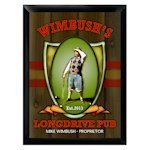 Personalized Long Drive Pub Sign