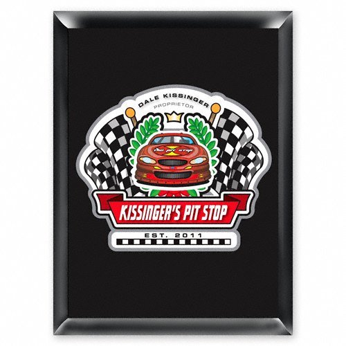 Personalized Racing Pit Stop Pub Sign