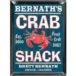 Personalized 'Crab Shack' Pub Sign