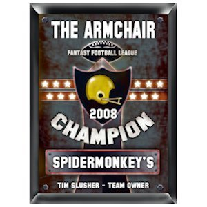 Personalized Fantasy Football Champion Pub Sign image