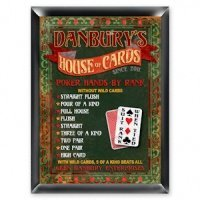 Personalized 'House of Cards' Pub Sign