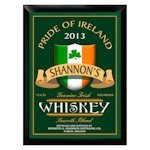Personalized Irish Whiskey Pub Sign