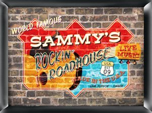 Personalized 'Roadhouse' Pub Sign image