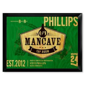 Traditional Tap Room Man Cave Pub Sign image