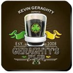 Personalized Irish Coaster Set