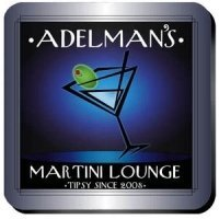 Personalized 'After-Hours' Martini Lounge Coaster Set