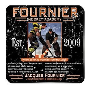 Personalized Hockey Academy Coaster Set image