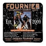 Personalized Hockey Academy Coaster Set