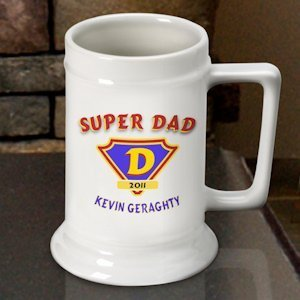 Personalized Father's Day Beer Stein - 2 Designs image