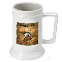 Personalized Saloon Beer Stein