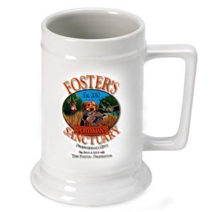 Personalized Sportsman's Beer Stein image