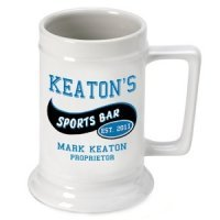 Personalized Beer Steins