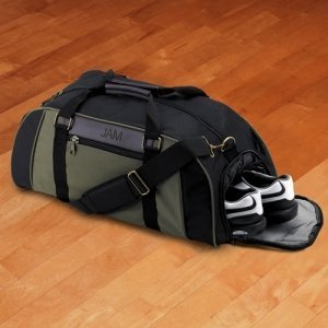 Personalized Deluxe Duffel Bag image